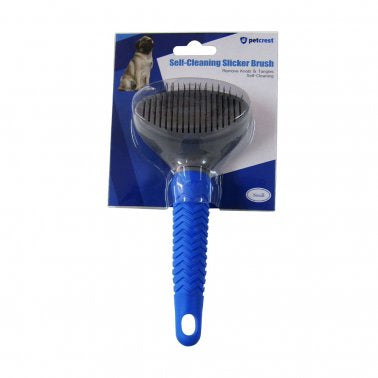 Self-Cleaning Clicker Brush