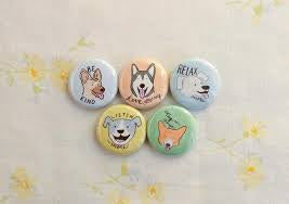 Pawsitive Vibes Pins