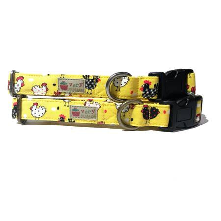 Chicken Run Organic Pet Collar