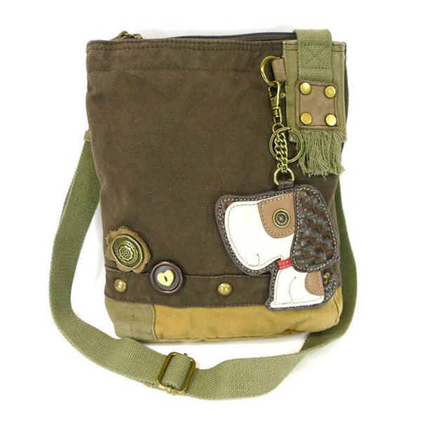 Patch Cross Body Bag - Dog