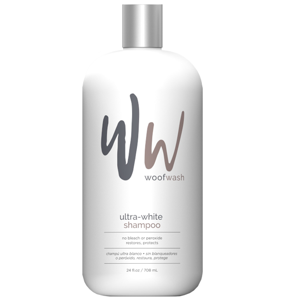 Woof Wash Brilliant Whitening Shampoo