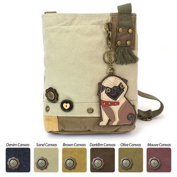Patch Crossbody Bag - Pug