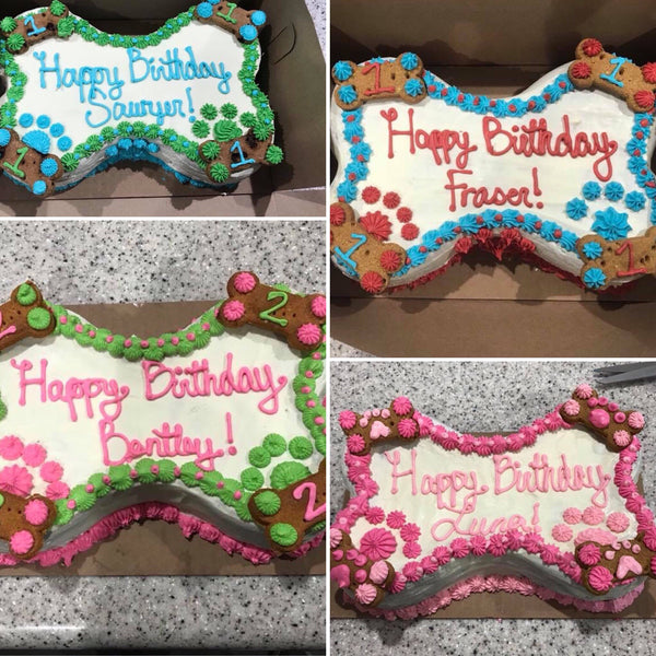 Dog Birthday Cake Order