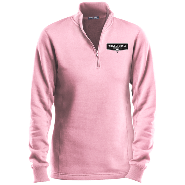 LST253 Sport-Tek Ladies' 1/4 Zip Sweatshirt
