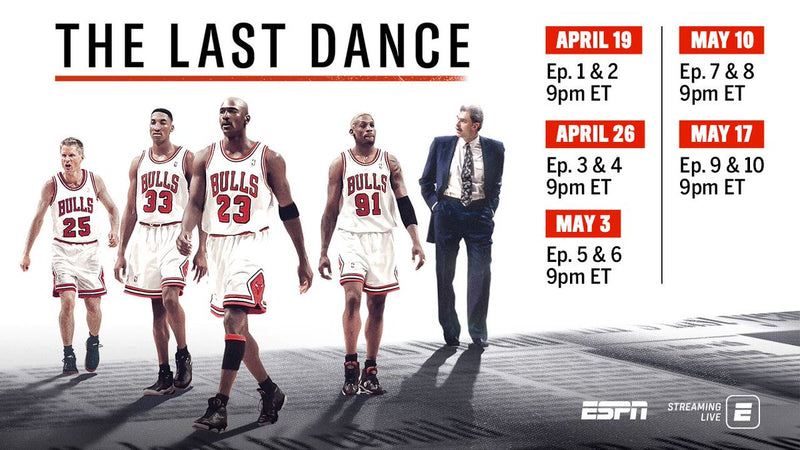 The Last Dance - Michael Jordan and Chicago Bulls Documentary is Released Early