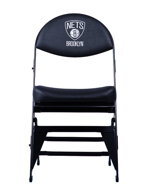 Brooklyn Nets X-Frame Court Side Folding Chair