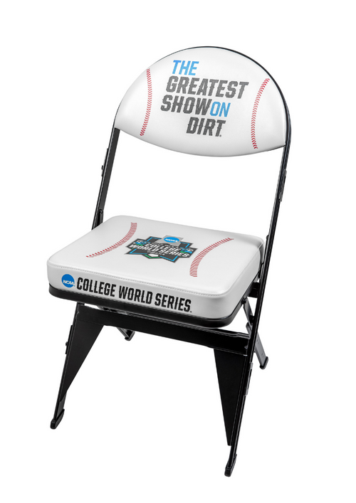College World Series Dugout and Locker Room Chair