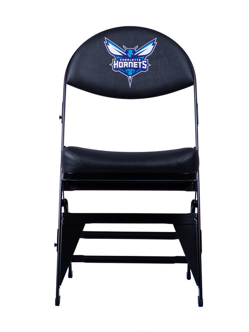 Charlotte Hornets X-Frame Courtside Folding Chair