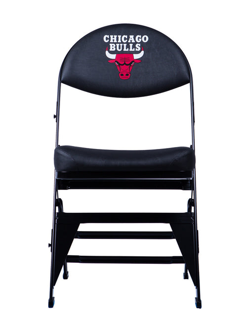 Chicago Bulls X-Frame Courtside Folding Chair