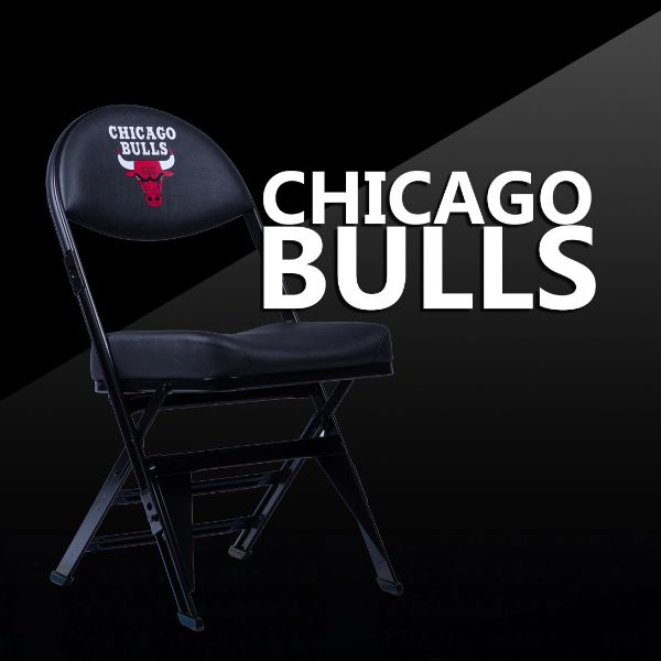 Chicago Bulls X-Frame Court Side Folding Chair