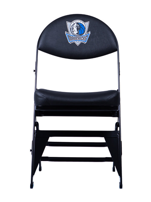 Dallas Mavericks X-Frame Courtside Folding Chair