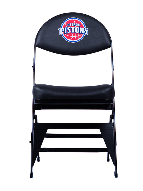 Detroit Pistons X-Frame Courtside Folding Chair