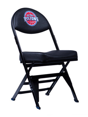 Detroit Pistons X-Frame Court Side Folding Chair