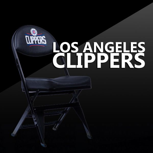 Los Angeles Clippers X-Frame Courtside Folding Chair