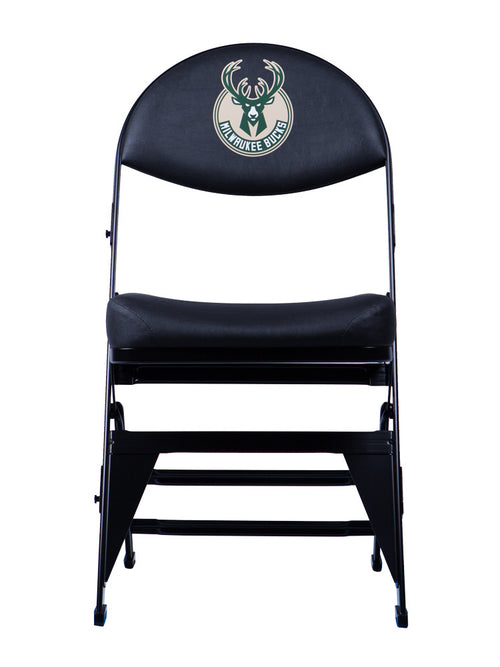 Milwaukee Bucks X-Frame Courtside Folding Chair