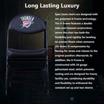 Oklahoma City Thunder X-Frame Court Side Folding Chair