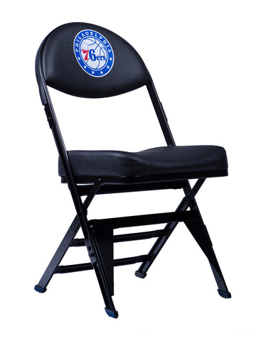 Philadelphia 76ers X-Frame Court Side Folding Chair