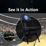 Philadelphia 76ers X-Frame Courtside Folding Chair