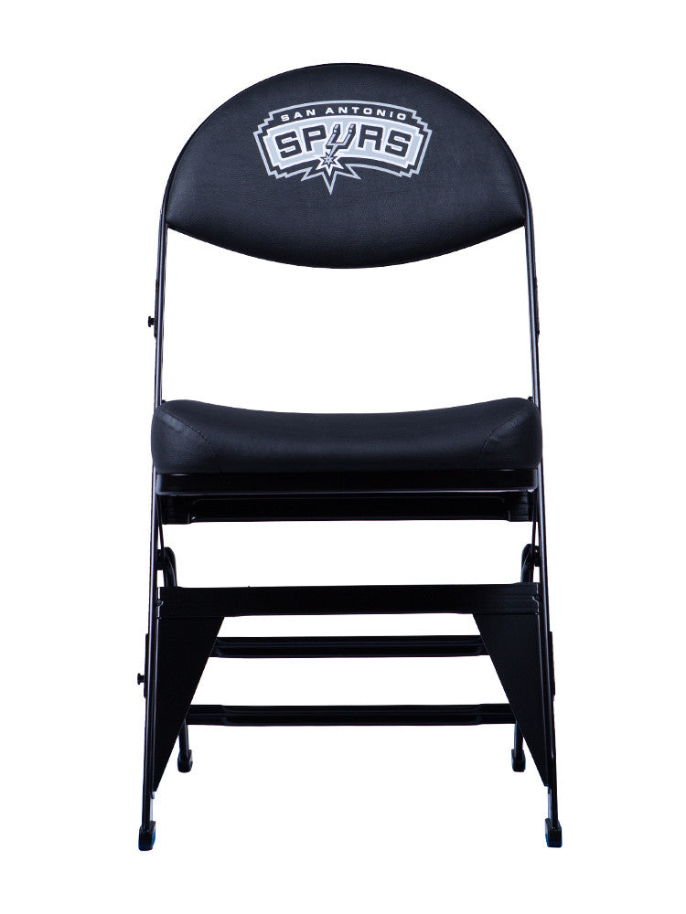 San Antonio Spurs X-Frame Court Side Folding Chair