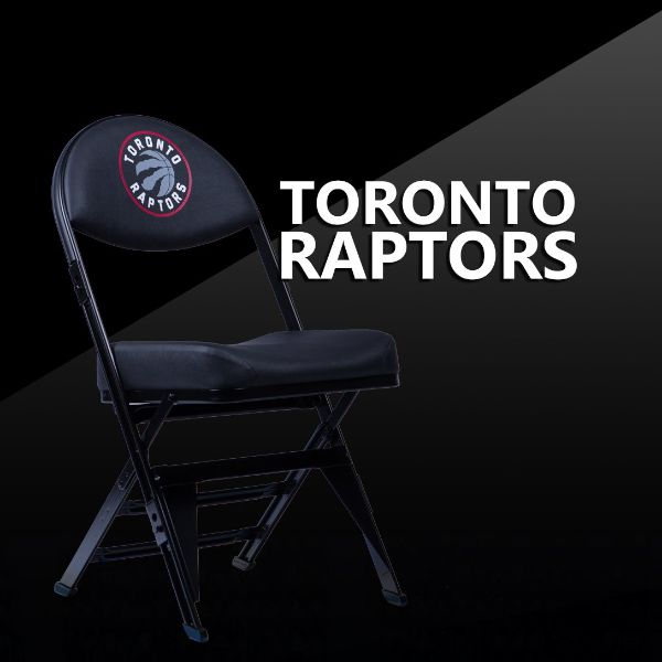 Toronto Raptors X-Frame Court Side Folding Chair