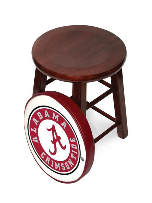 Alabama Crimson Tide Locker Room Stool