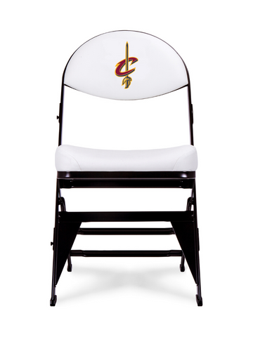 Cleveland Cavaliers - White X-Frame Court Side Folding Chair