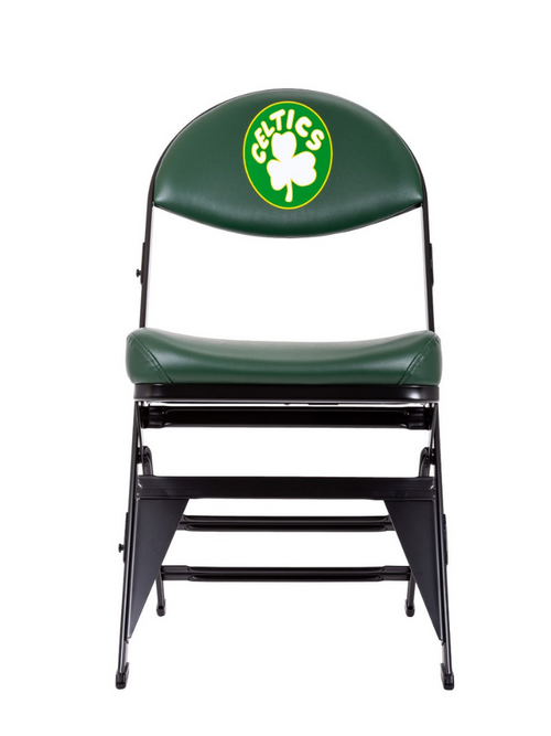 Boston Celtics Hardwood Classics NBA Logo chair - Dark Green
