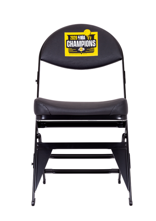 LIMITED EDITION - Lakers Championship X-Frame Courtside Folding Chair