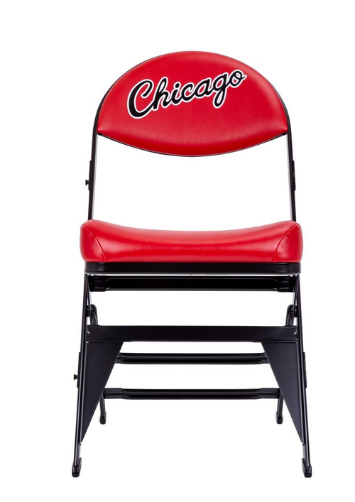 Chicago Bulls Hardwood Classics NBA Logo Chair