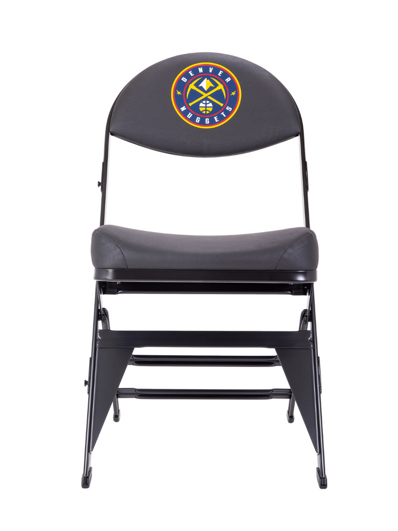 Denver Nuggets X-Frame Courtside Folding Chair