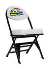 Denver Nuggets Hardwood Classics NBA Logo Chair