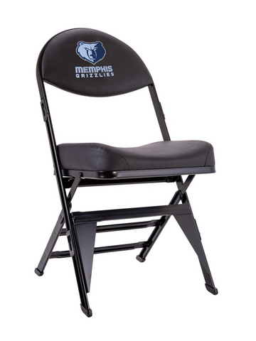 Memphis Grizzlies X-Frame Court Side Folding Chair