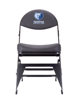 Memphis Grizzlies X-Frame Courtside Folding Chair
