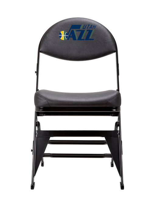 Utah Jazz X-Frame Court Side Folding Chair