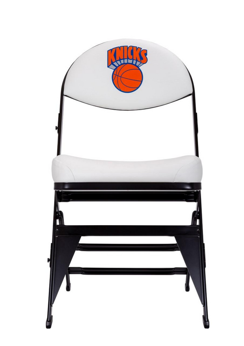 New York Knicks Hardwood Classics NBA Logo Chair