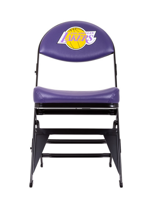 Los Angeles Lakers Hardwood Classics NBA Logo Chair - Purple