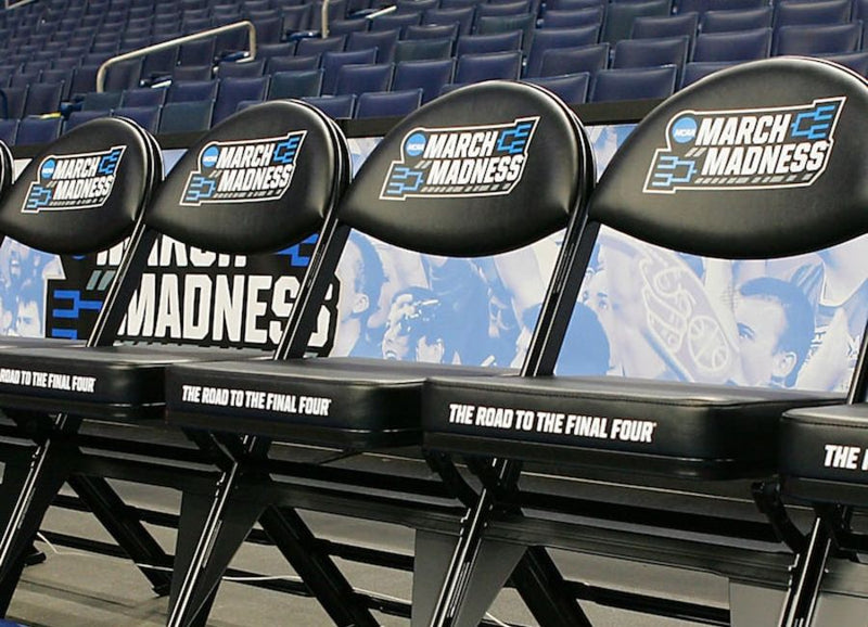 Official NCAA March Madness Bench Chair