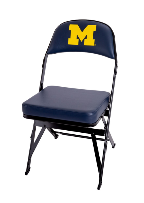 Michigan Wolverines Team Bench Chair