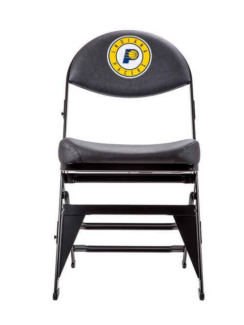 Indiana Pacers X-Frame Courtside Folding Chair