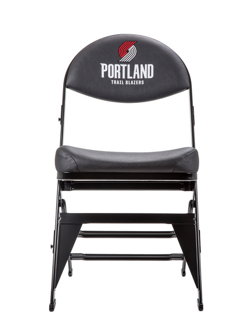 Portland Trail Blazers X-Frame Court Side Folding Chair