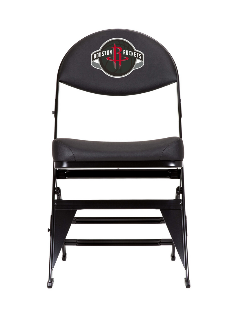Houston Rockets X-Frame Court Side Folding Chair
