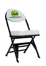 Seattle Supersonics Hardwood Classics NBA Logo Chair
