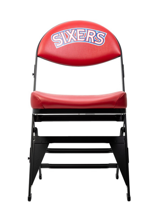 Philadelphia 76ers Hardwood Classics NBA Logo Chair