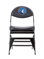 Minnesota Timberwolves X-Frame Courtside Folding Chair