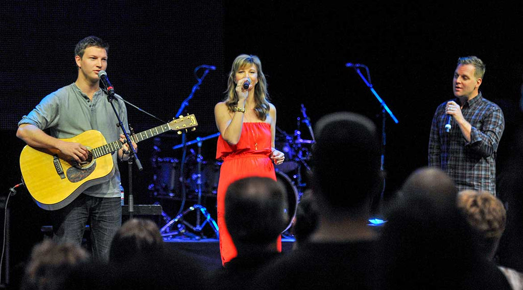 Missy Robertson, Reed, and Matthew West