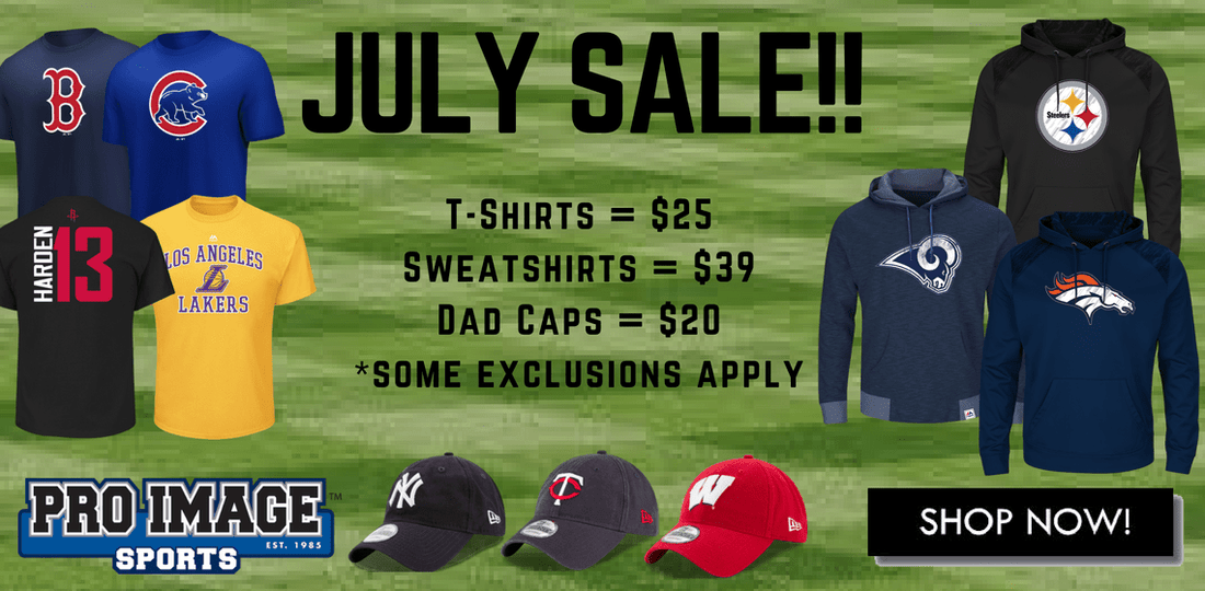 Pro Image Sports at Mall of America July 2018 Sale!
