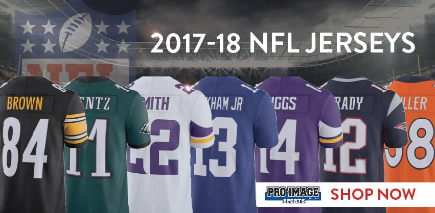 New Nike NFL Jerseys Released for 2017-18 Season!
