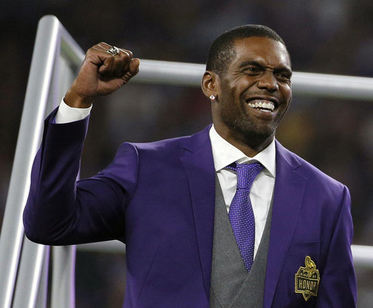 Randy Moss; Hall of Famer!