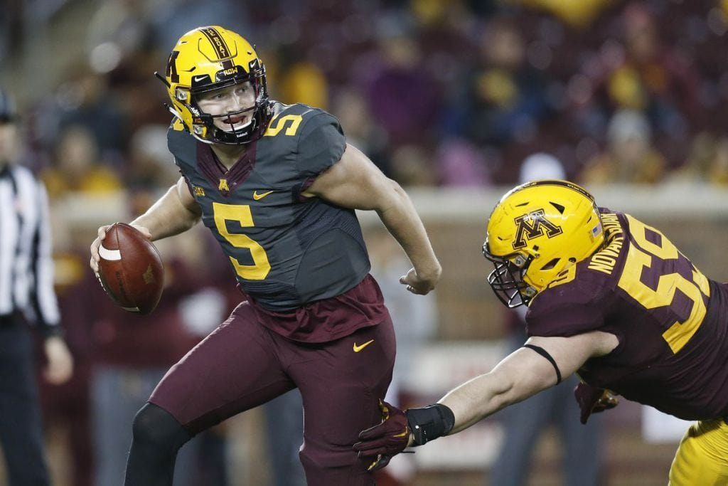 True Freshman, Zack Annexstad Named Starting QB for Gopher Football (MinnesotaSportsFan.com