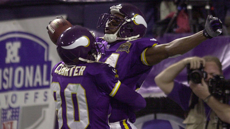 The Greatest Minnesota Vikings Wide Receiver is...